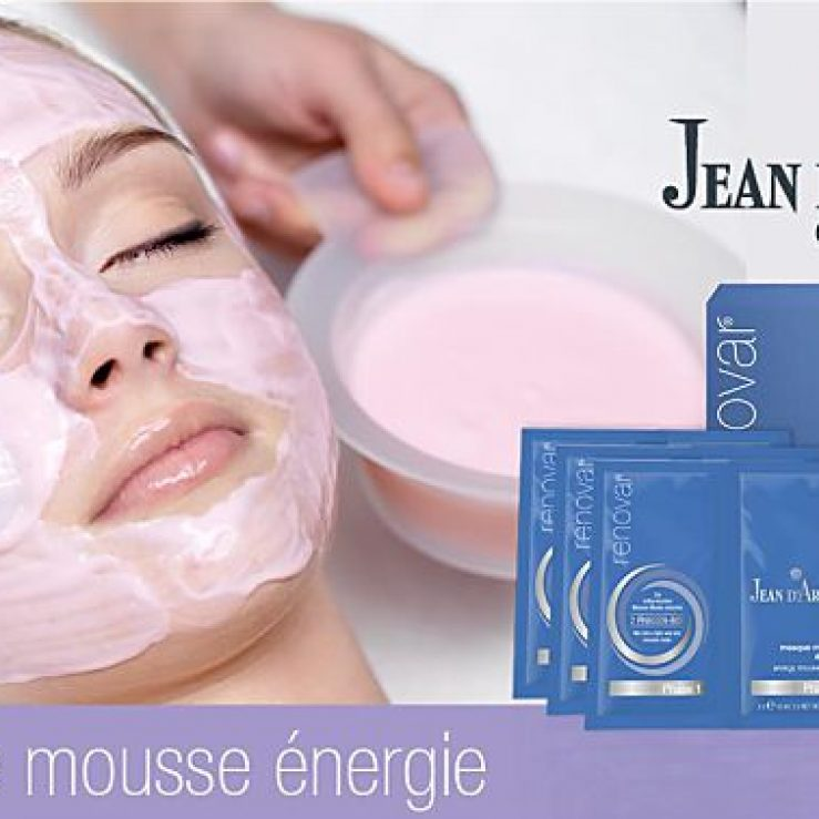 masque mousse ènergie